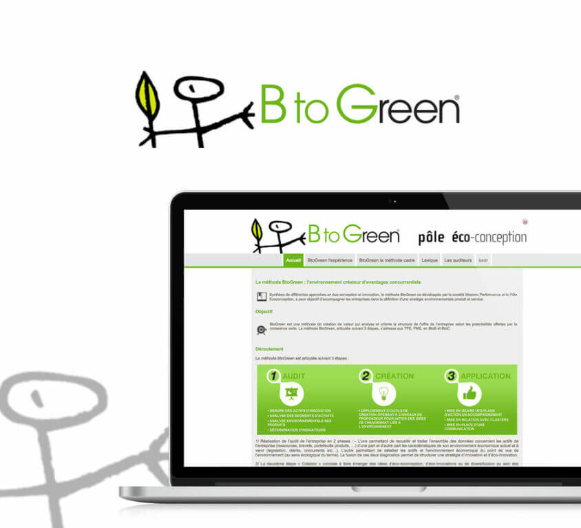 Service en ligne Pôle Eco-Conception