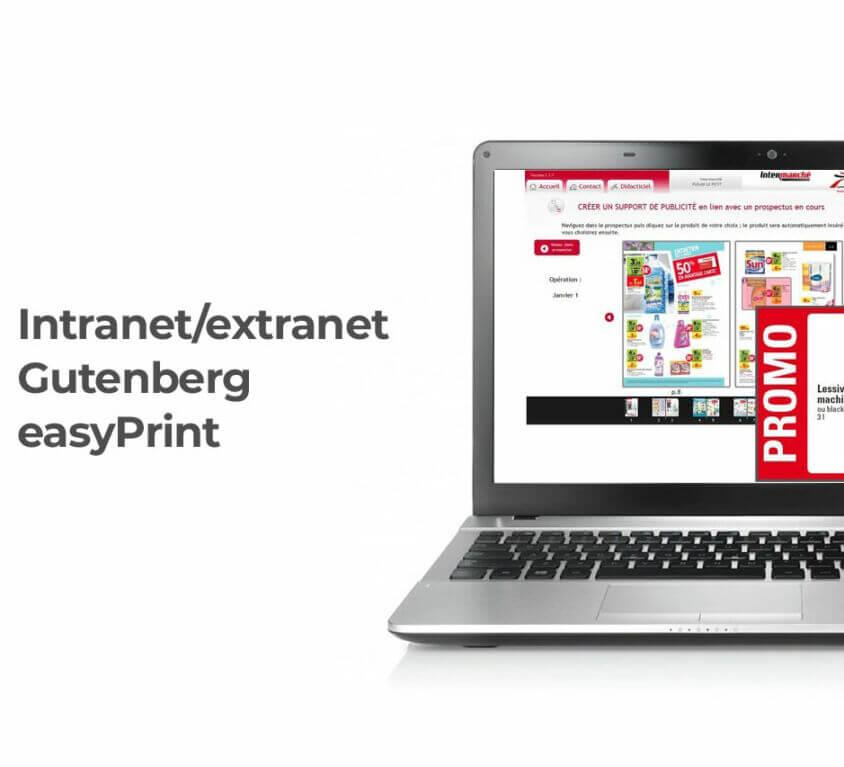 Service en ligne Gutenberg easyPrint