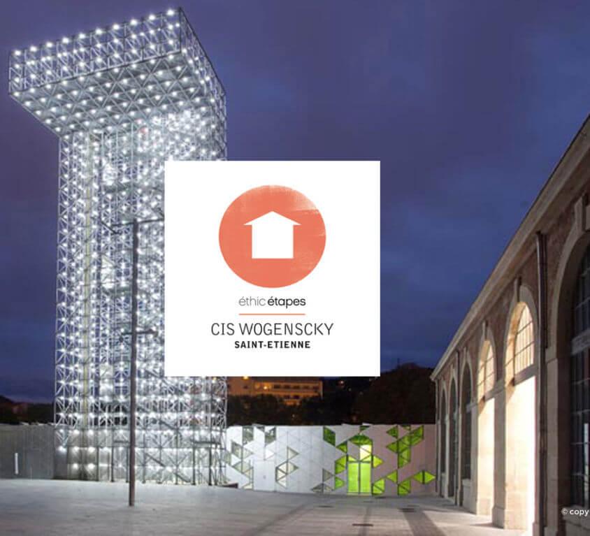Site vitrine Internet CIS St-Etienne – Centre International André Wogenscky