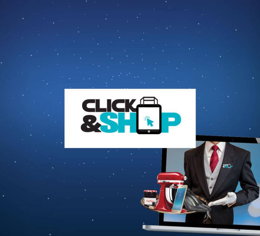 Site vitrine Click and Shop