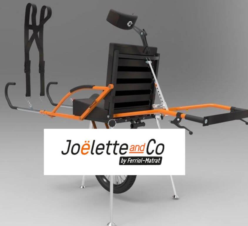 Site vitrine Joëlette & Co
