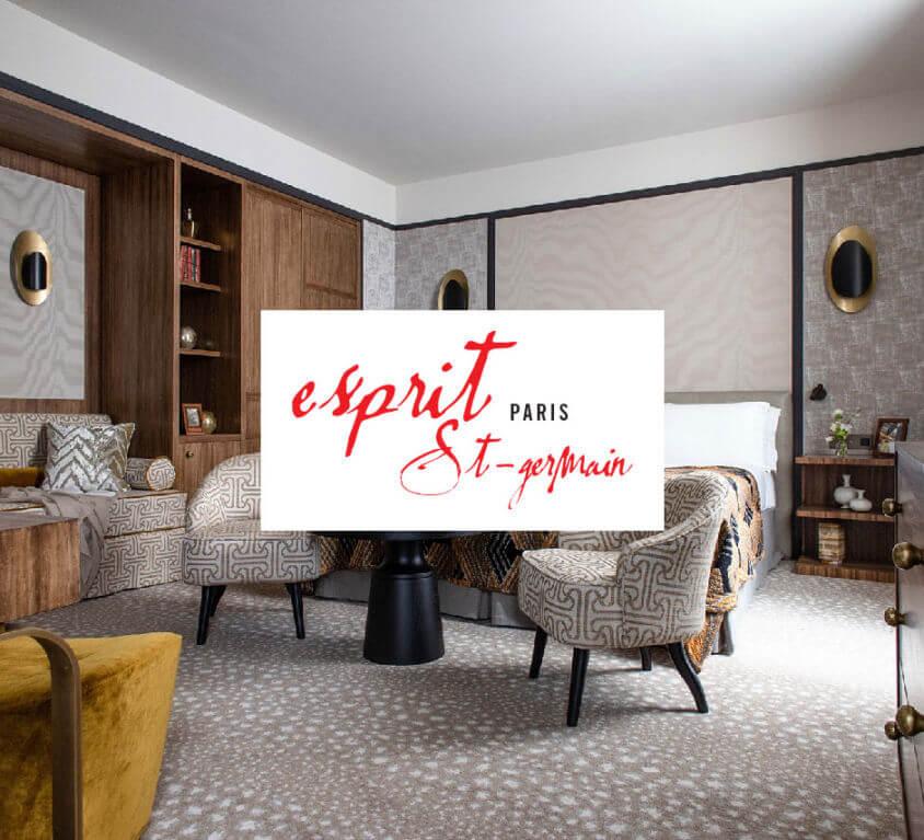 Site vitrine Hotel Esprit Saint Germain