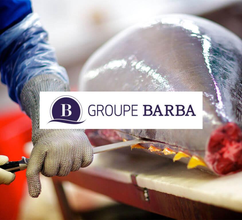 Site vitrine Groupe Barba